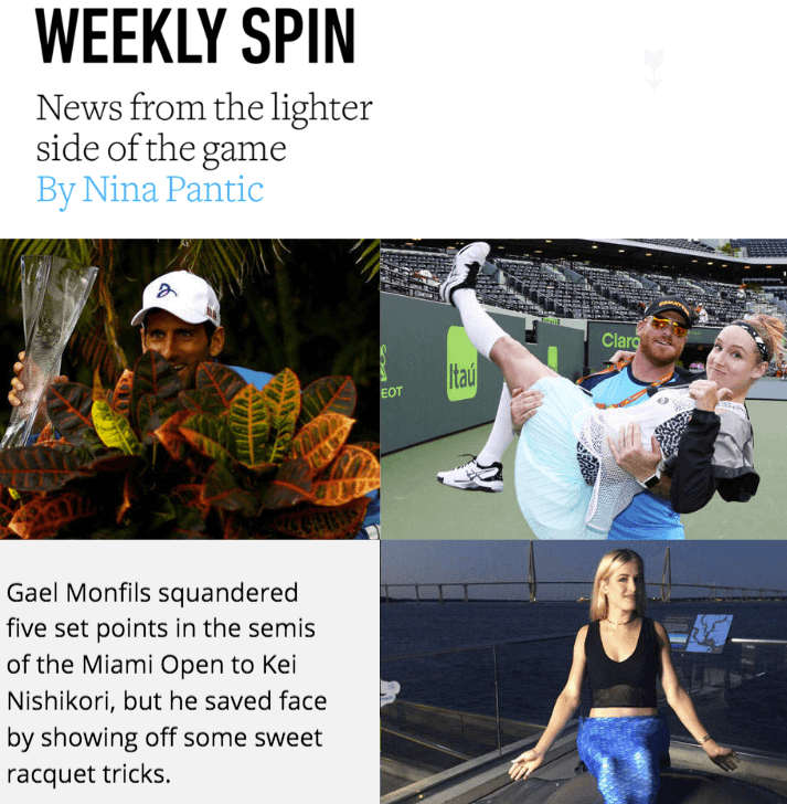 Interactive Magazine: Weekly Spin