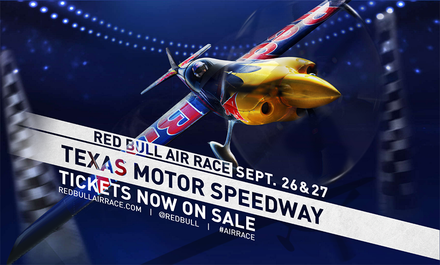 Red Bull Texas Air Race Infographic