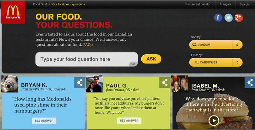 Case questions to consider for mcdonalds