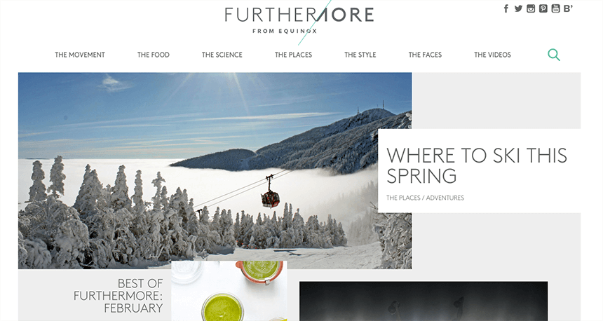 Furthermore - Brand Publishing Example