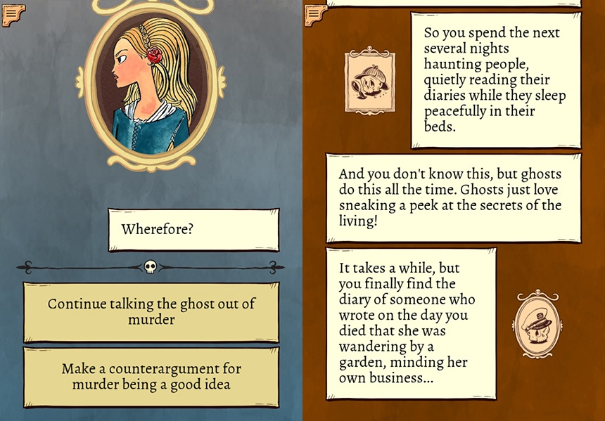 Interactive Story App: To Be Or Not To Be