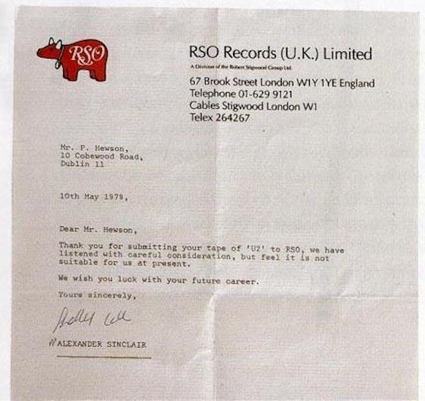U2 RSO rejection
