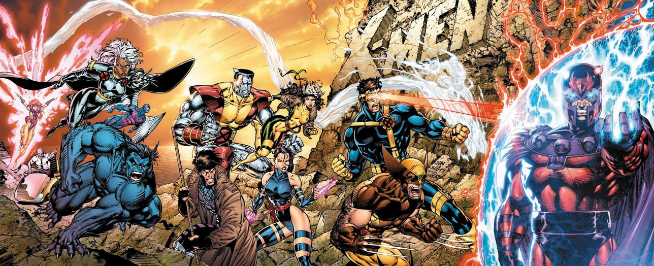 Jim Lee Rejection X-Men