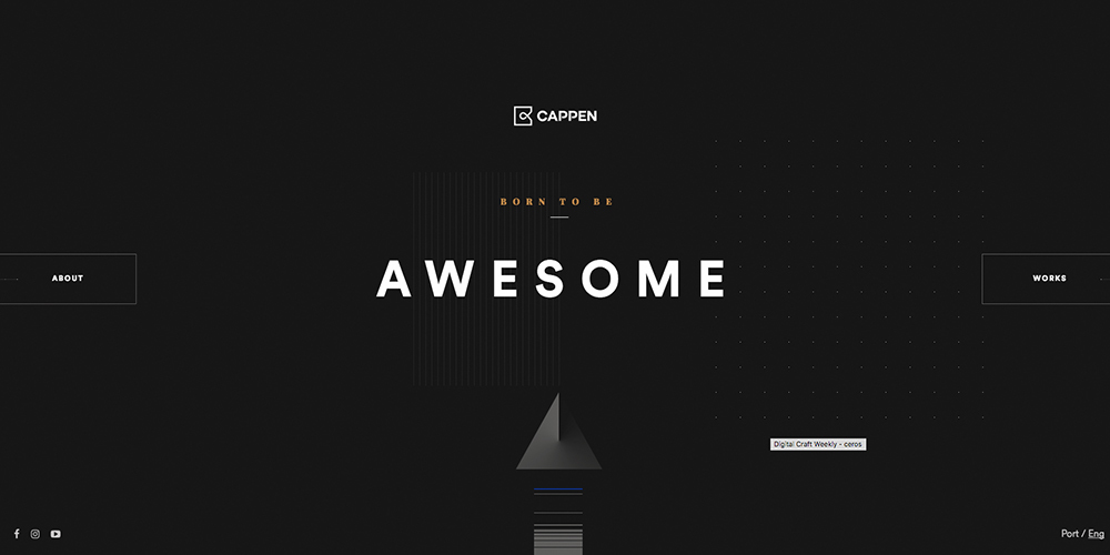Cappen Digital Agency Homepage