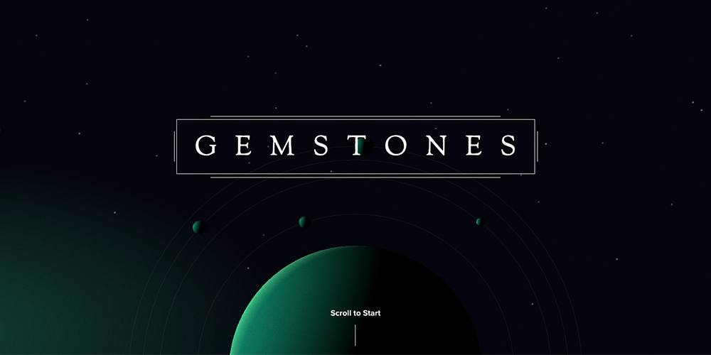 Gemstones Web Game by Elespacio