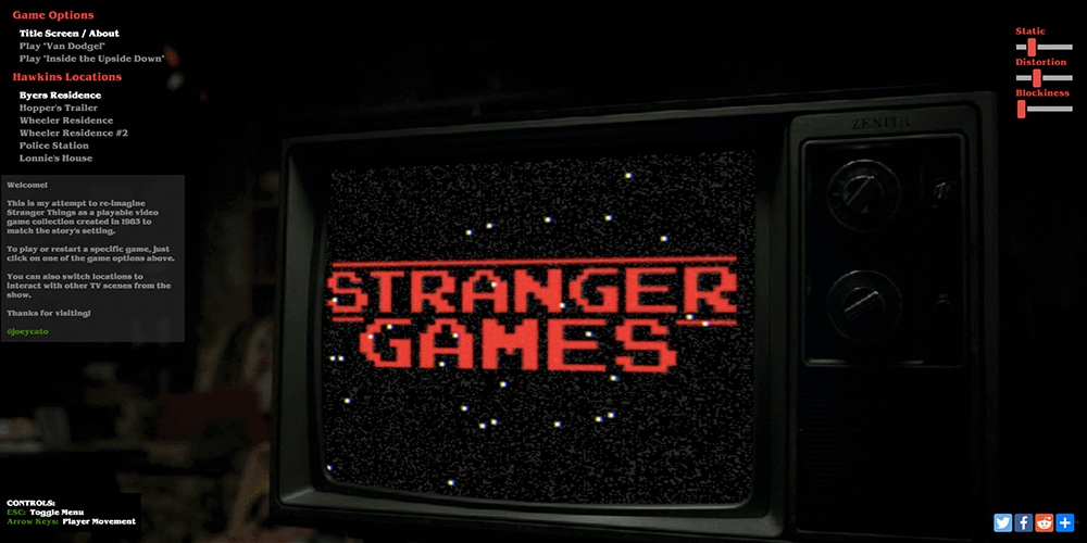 Stranger Games by Joey Cato