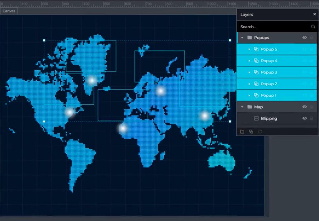Creating Interactive Maps - Ceros Educate: Video Lessons and