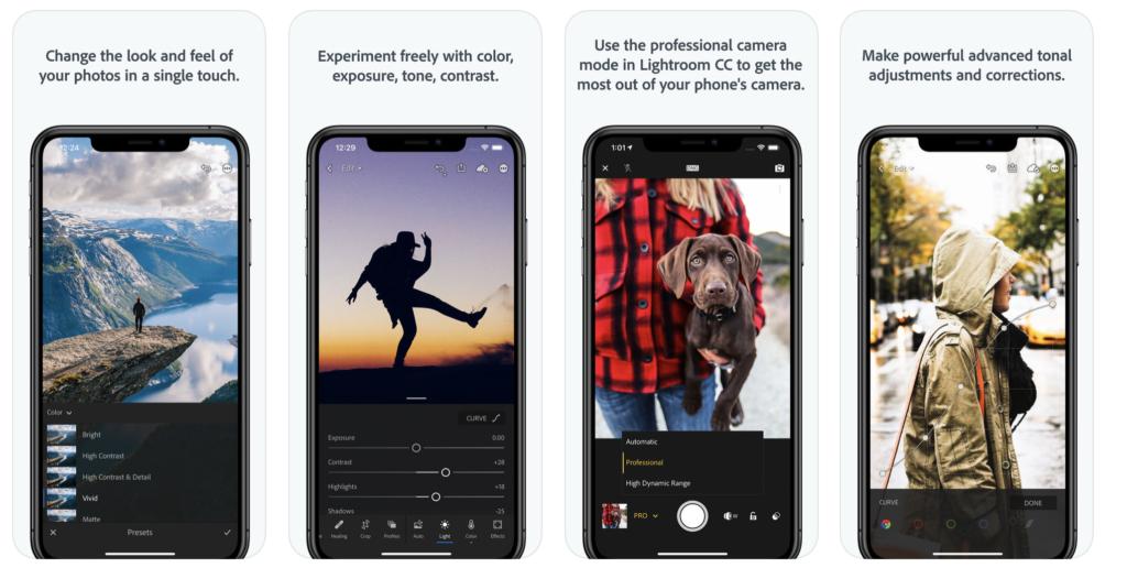 Adobe Lightroom iPhone App