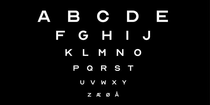 Optician Typography