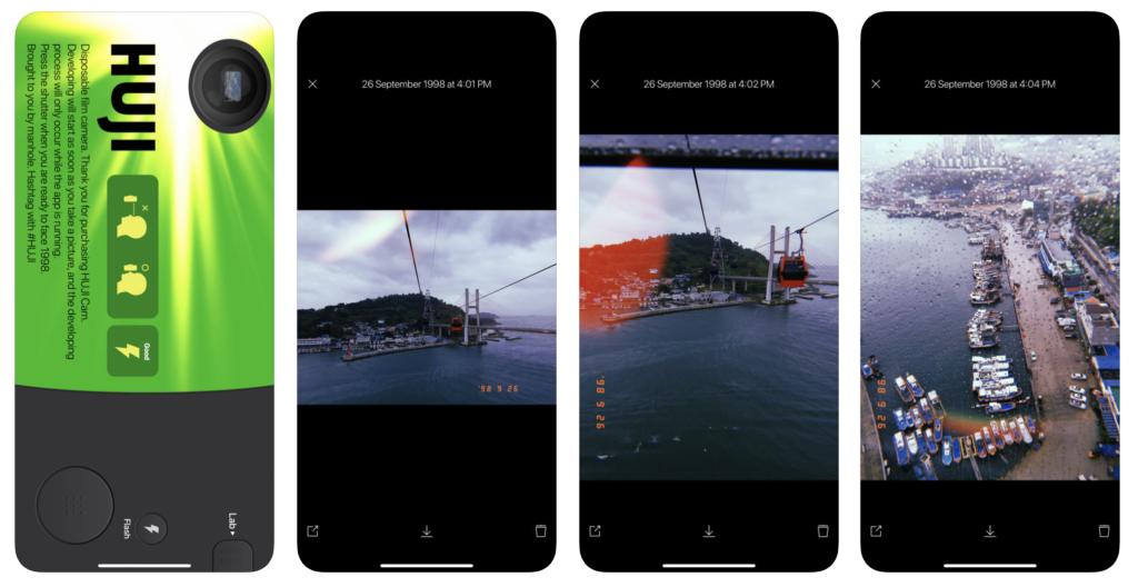 Huji iPhone App