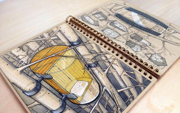 Reid Schlegel Design Sketching