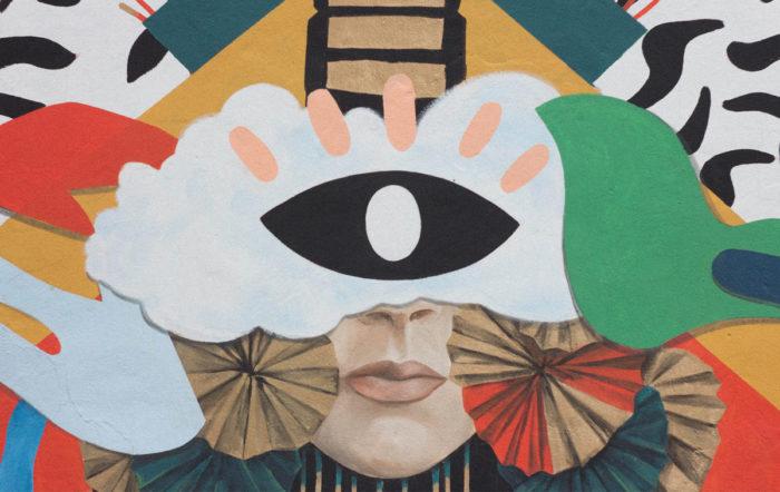 Eye Motif Painting