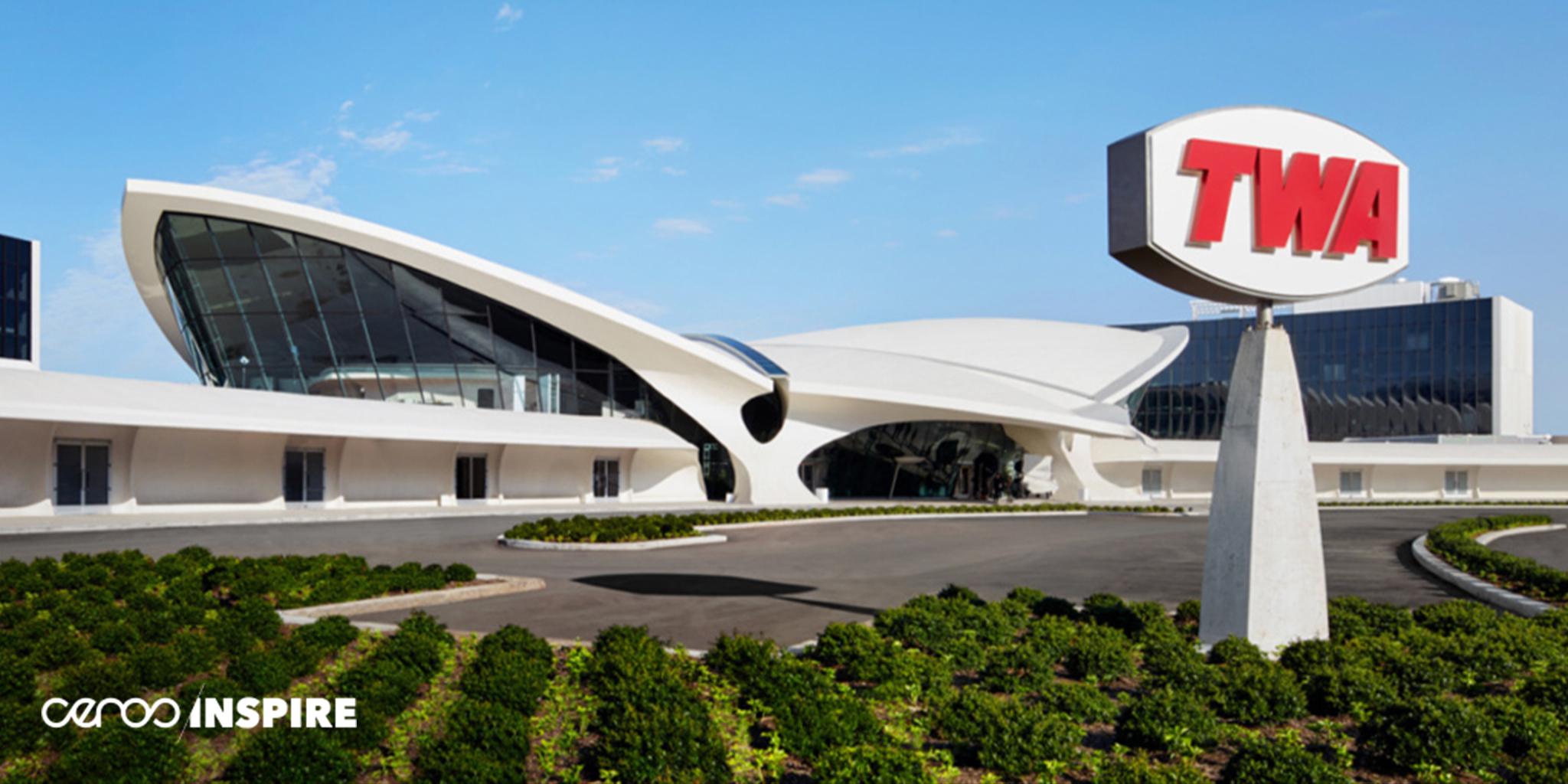 TWA Terminal at New York's John F Kennedy Airport